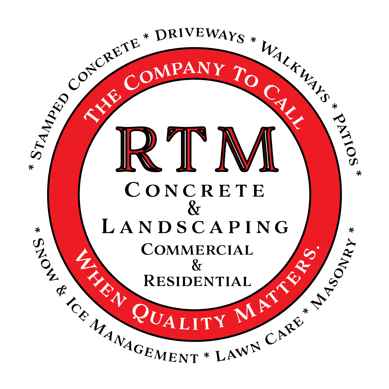 RTM Concrete and Landscaping